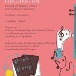 Poster for October concert
